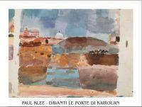 "Poster de arta ""In fata portii din Kairouan"" de Klee"