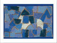 Poster de arta ''Noapte albastra''