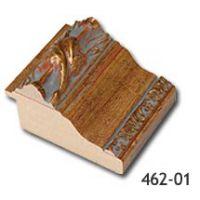 Rama de lemn aurie lata cu ornament 462-01