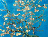 Poster Van Gogh Ramura de migdal 80x60 cm